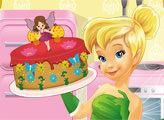 Игра Тинкербелл готовит пирог фей