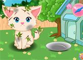 Игра Забота о Прекрасном Котенке