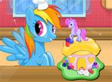 Игра Пони - Торт на День Рождения
