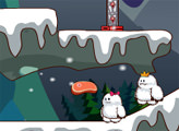 Игра Маленькие Снежные Монстры