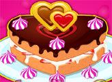 Игра Торт ко дню Святого Валентина