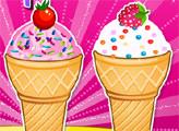 Игра Мороженое в вафельном рожке
