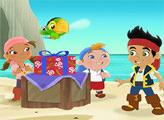 Игра Пазл - подарок для Джейка и пиратов