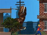 Игра Динозавр Рэкс в Нью-Йорке