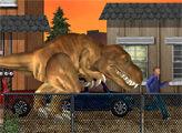 Игра Динозавр Рэкс в Лос-Анджелесе