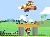 Игра Марио воздушный налет