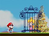 Игра Марио спасает Принцессу
