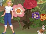 Игра Алиса следует за кроликом