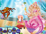 Игра Барби под водой