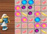Игра Смурфики:  Конфетные блоки