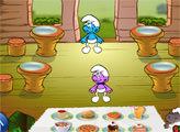 Игра Смурфики: Ресторан