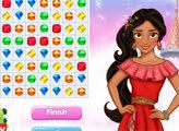 Игра Принцесса Елена - драгоценные камни