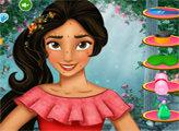 Игра Принцесса Елена - СПА для лица