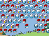 Игра Смурфики: Пузыри