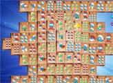 Игра Смурфики: Классический маджонг