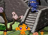 Игра Счастливая обезьянка: Ниндзя 2