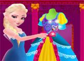 Игра Платье от Эльзы