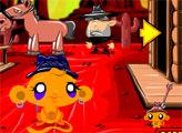 Игра Счастливая обезьянка: Вестерн