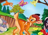 Игра Бэмби - приключения в лесу