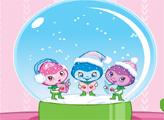Игра Шарлотта Земляничка: Снежный шар