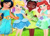Игра Принцессы Диснея: хэллоуин