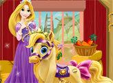 Игра Королевские питомцы: Звездочка и Рапунцель