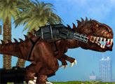 Игра Динозавр Рэкс в Мексике