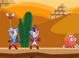Игра Ультрамэн против Египетских монстров