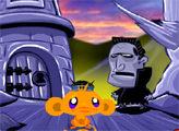 Игра Счастливая обезьянка: Охота на ниндзя 2