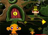 Игра Счастливая обезьянка: Лепреконы