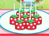 Игра Шарлотта Земляничка: Готовим кейк-попсы