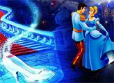 Игра Золушка и Принц - Раскраска
