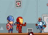 Игра Мстители Герои против VS Роботов пришельцев