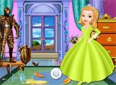 Игра Принцесса Эмбер - макияж для замка