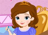 Игра Принцесса София отдыхает в классе