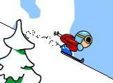Игра Aggressive Alpine Skiing
