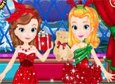Игра София и Эмбер празднуют Рождество
