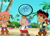 Игра Джейк Пират - найди звёздочки