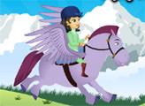 Игра София на летящем пегасе