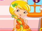 Игра Шарлотта Земляничка: Лимона собирается на вечеринку