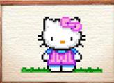 Игра Вышиваем крестиком - Хелло Китти