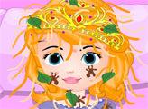 Игра Принцесса София - укус насекомого