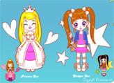 Игра Раскраска Сью и принцесса