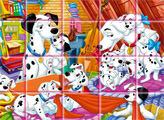Игра 101 Далматинец - мозаика-пазл