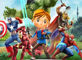 Игра Супергерои - плиткопазлы