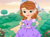 Игра Принцесса София наряжается