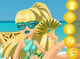 Игра Монстер Хай: Мрачный пляж - Клео де Нил