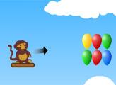 Игра Обезьянки Блунс: Воздушный дартс 3