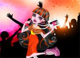 Игра Монстер Хай: Музыкальный фестиваль - Дракулаура