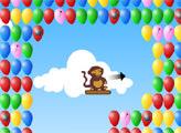 Игра Обезьянки Блунс: Воздушный дартс
